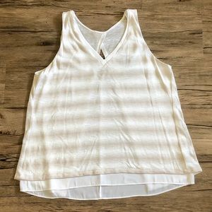 White House Black Market Layered Tank